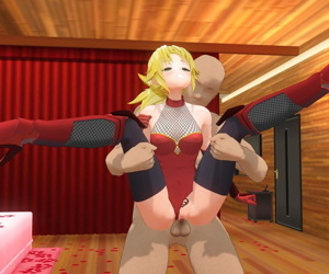 manga 対魔サーヴァントモードレ.., mordred pendragon , dark skin , blowjob  leotard