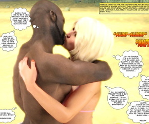 manga Key- Interracial Beach Adventure, slut  interracical