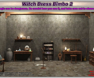 manga Mr. Phoenyxx- Witch Dress Bimbo 2, slut , big boobs  breast expansion