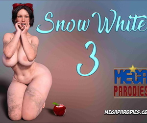 manga Mega Parodies- Snow White 3, slut , big boobs  interracical