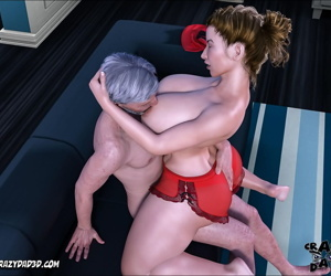 manga CrazyDad- Father-in-Law at Home Part 11, big cock , slut  big-cock
