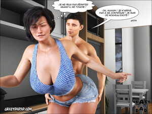 manga Mother - Desire Forbidden 6 - part 2, big penis , muscle