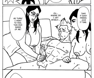 manga Bachelor Party, threesome  cheating