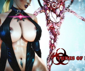 english manga Crisis of Desire 01 English, jill valentine , gloves , leotard  transformation