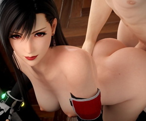 manga Tifa Lockhart - 3D Compilation - part 3, tifa lockhart , uncensored  fantasy