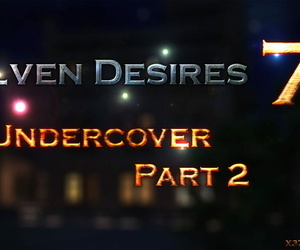 manga X3Z Elven Desires - Undercover Part 2, uncensored  monster