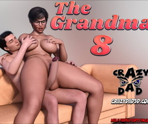 manga The Grandma 8, big penis , glasses  incest
